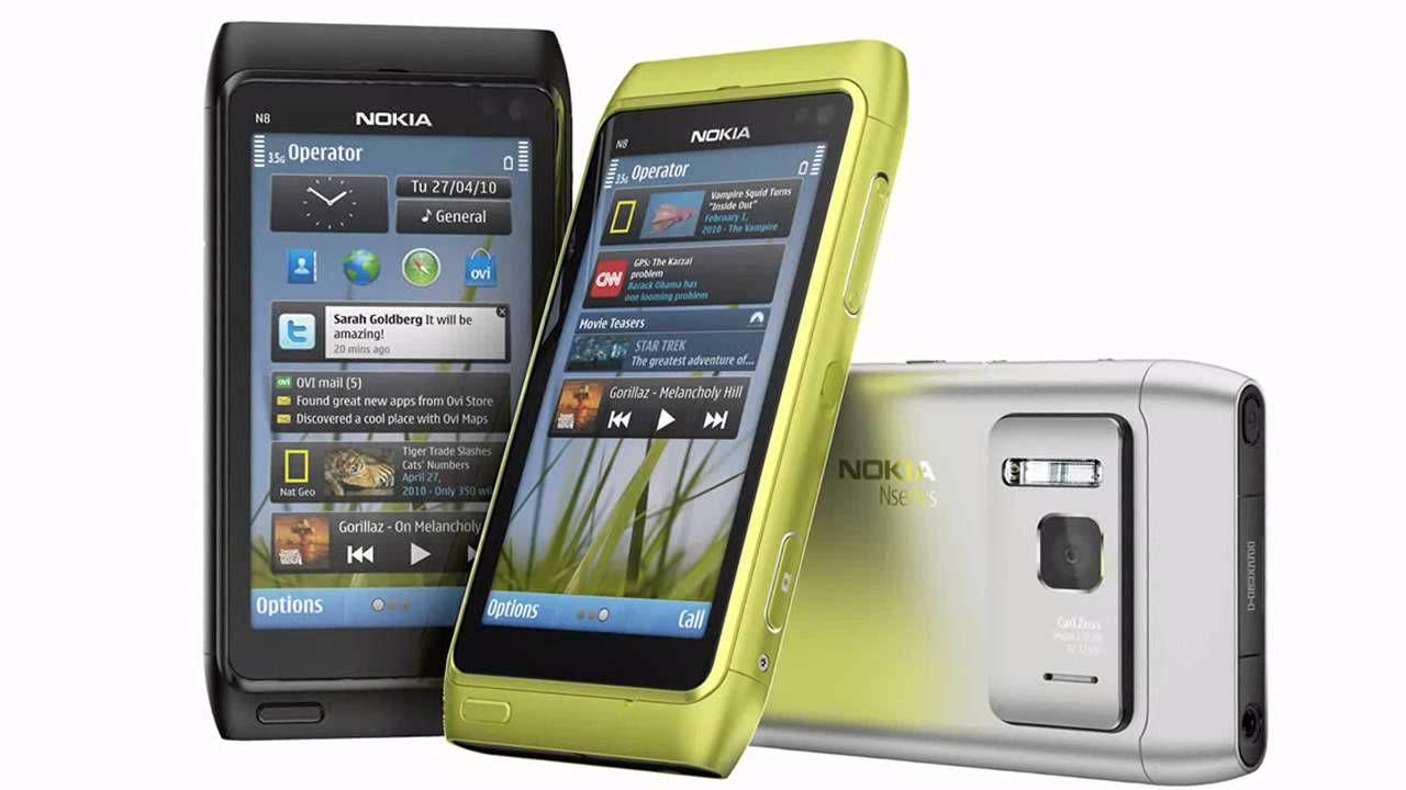 Ilustrasi Nokia N Series