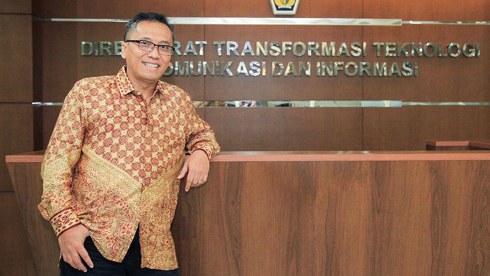 Iwan Djuniardi (Direktur Transformasi Teknologi informasi dan Komunikasi DJP)