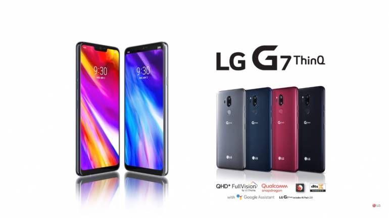 Ilustrasi LG G7 ThinQ