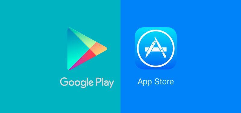Google Play dan App Store