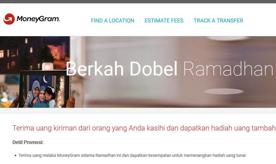 Sambut Ramadan, MoneyGram Luncurkan Program Berkah Dobel Ramadhan 2018