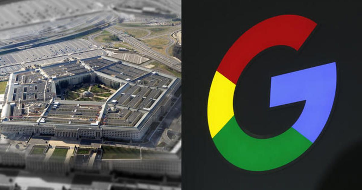 Ilustrasi kerjasama Google dan Pentagon