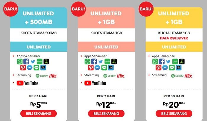Indosat Jual Paket Unlimited Youtube Mulai Rp 5 Ribu Lumayan Nih Semua Halaman Nextren Grid Id