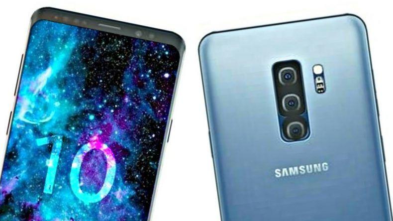 Ilustrasi Samsung Galaxy S10