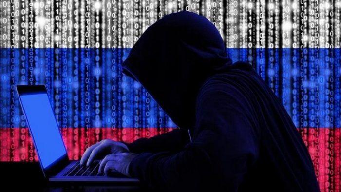 Ilustrasi hacker Rusia