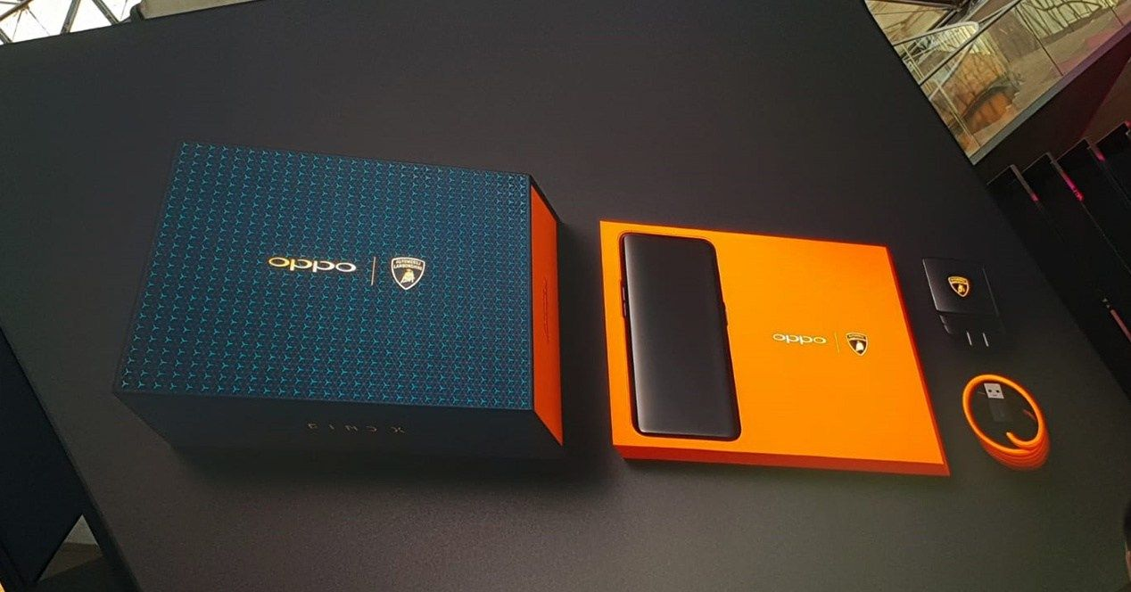 Oppo Find X edisi Lamborghini