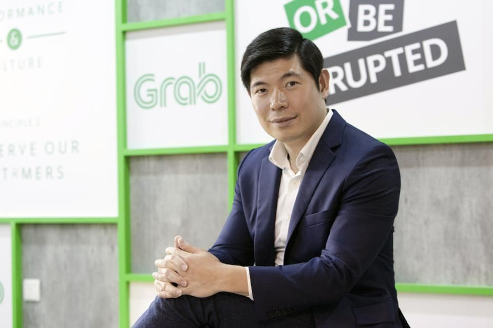 Group CEO and Co-founder Grab, Anthony Tan