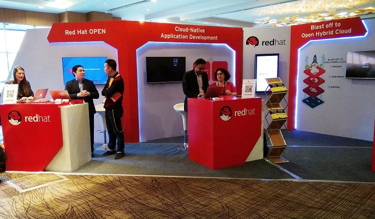 Suasana Red Hat Partner Conference 2018 di Nusa Dua, Bali
