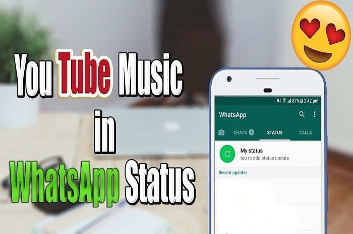 Bikin Status Di Whatsapp Lebih Seru Kalau Pakai Musik