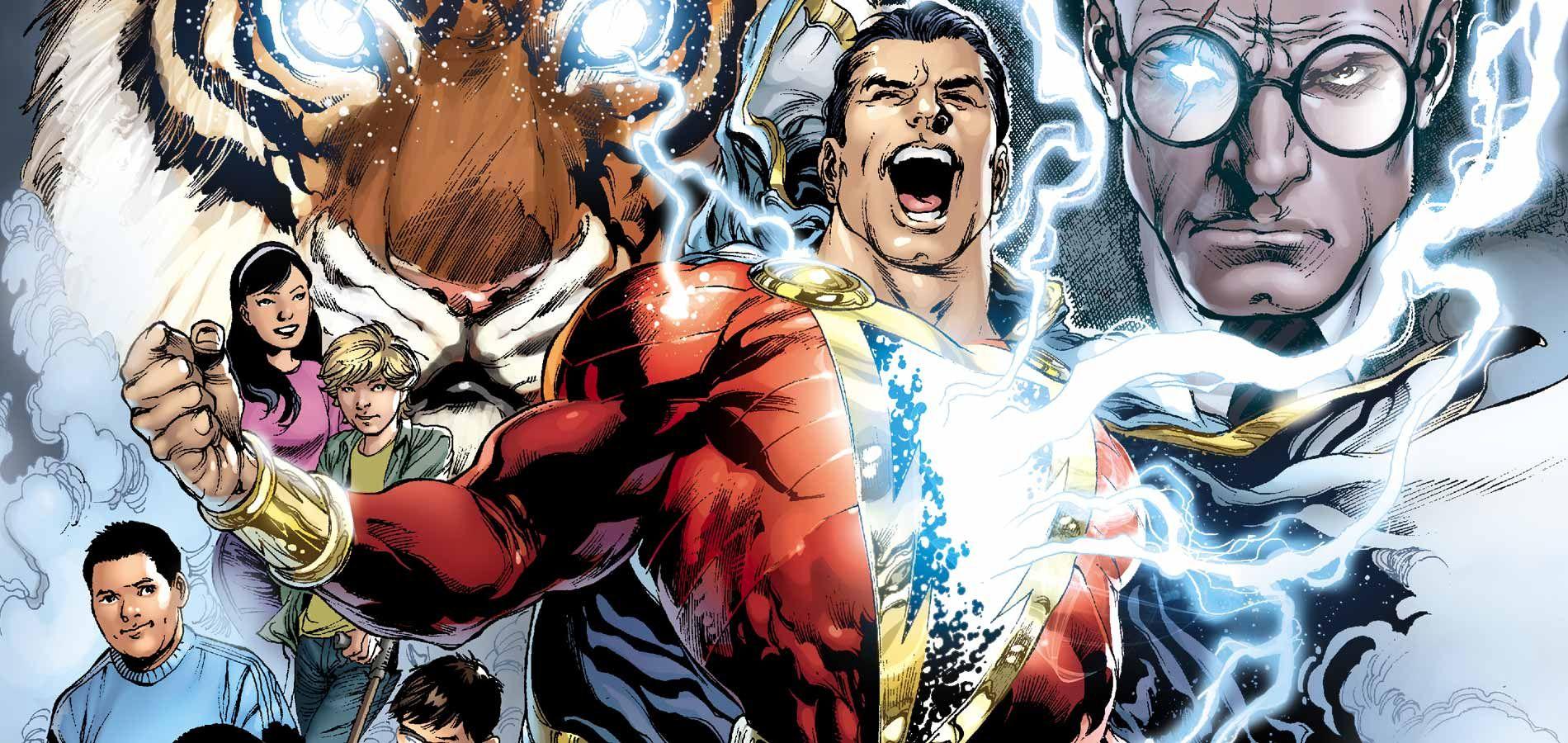 fakta unik shazam, superhero dc yang dulunya bernama captain marvel