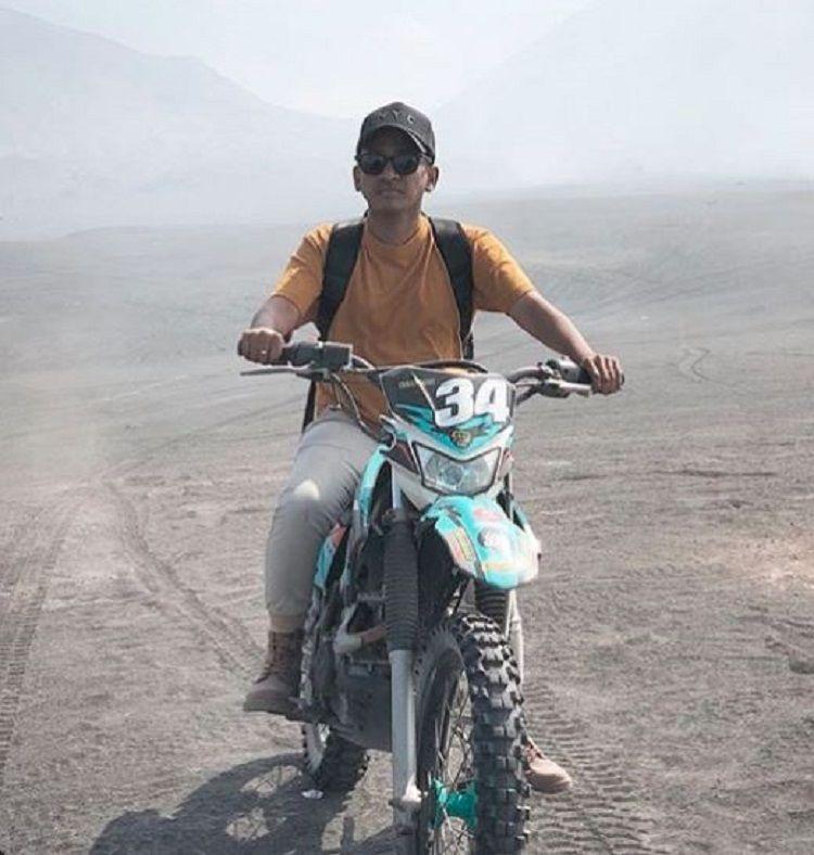 Pamer Foto Naik Motor Trail Ruben Onsu Disebut Makin Macho