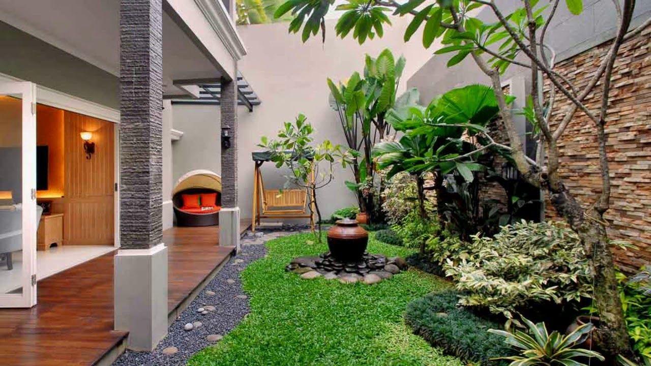 Inspirasi Desain Taman Mungil Manfaatkan Area Terbuka Di Rumah