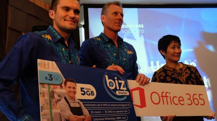 Gandeng Microsoft, XL Luncurkan Paket Data BIZ dengan Office 365