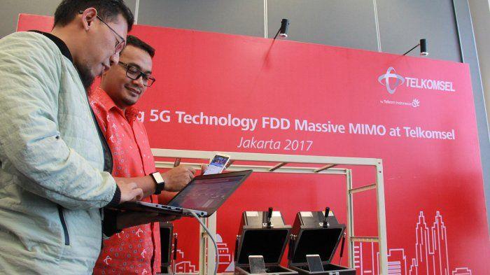Ilustrasi Jaringan 5G Telkomsel