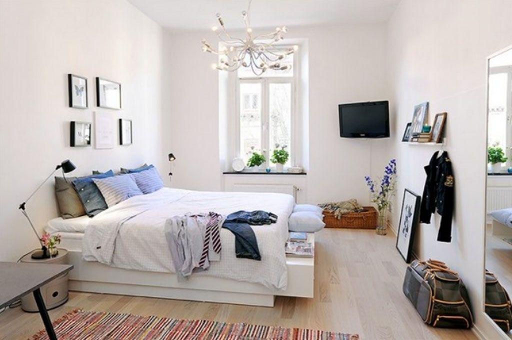 Desain Kamar Tidur Sempit Tanpa Jendela  6 cara menata kamar kos agar tidak terasa sempit dan