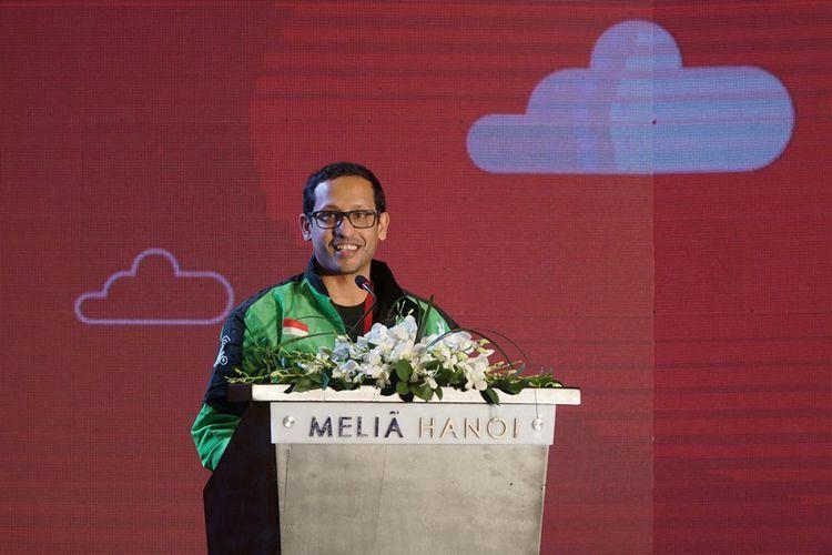 CEO Go-Jek Nadiem Makarim mengungkapkan upaya ekspansi Gojek