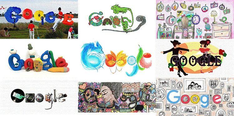 Ilustrasi Google Doodle
