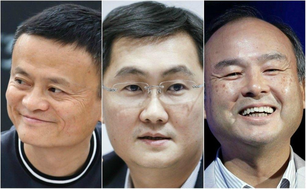 Lima orang terkaya di Asia dari dunia teknologi