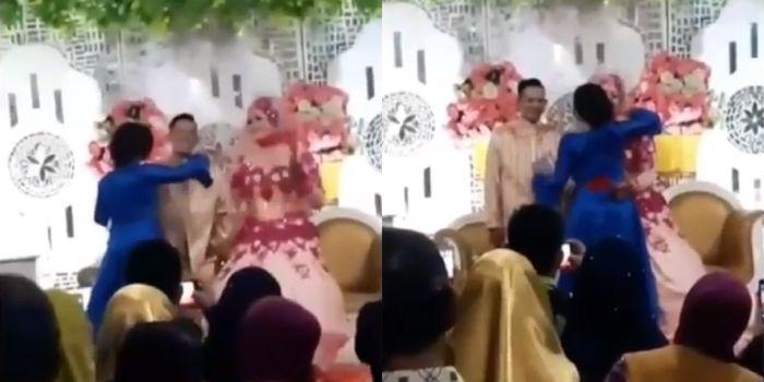 Hasil gambar untuk Dulu Minta Mahar Terlalu Tinggi, Wanita ini Datang ke Resepsi Pernikahan Kekasihnya Sebagai Tamu Undangan