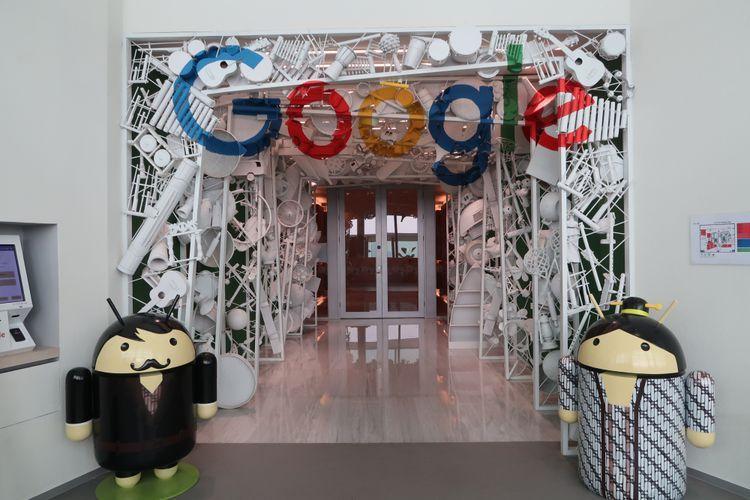 Ilustrasi Kantor Google di Indonesia
