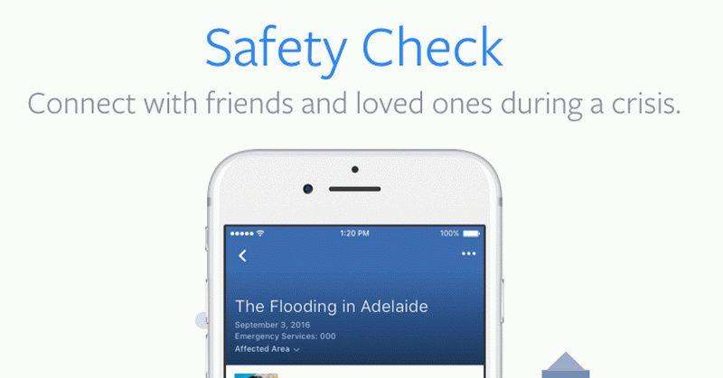 Ilustrasi Facebook Safety Chech