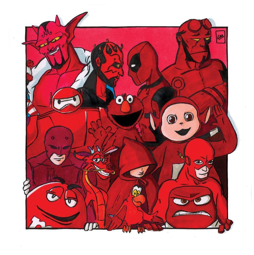 Memiliki Warna Yang Sama Karakter Karakter Ini Berkumpul Menjadi Satu Semua Halaman Bobo