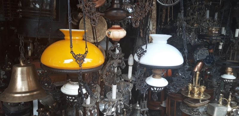 Berburu Lampu Seken Dan Antik Di Jalan Surabaya Harga Lebih Murah Semua Halaman Idea