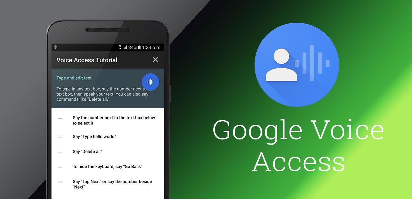 Ilustrasi Google Voice Access