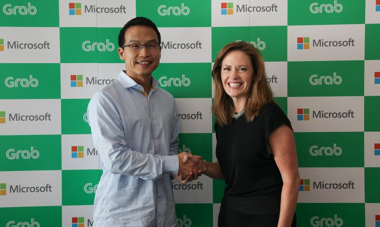 Microsoft Kucurkan Investasi ke Grab