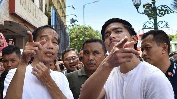 Ilustrasi Presiden Jokowi dan Kaesang