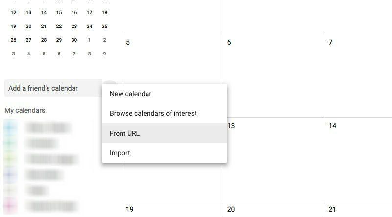 Tambah kalender Jadwal AFF 2018 dari menu ini