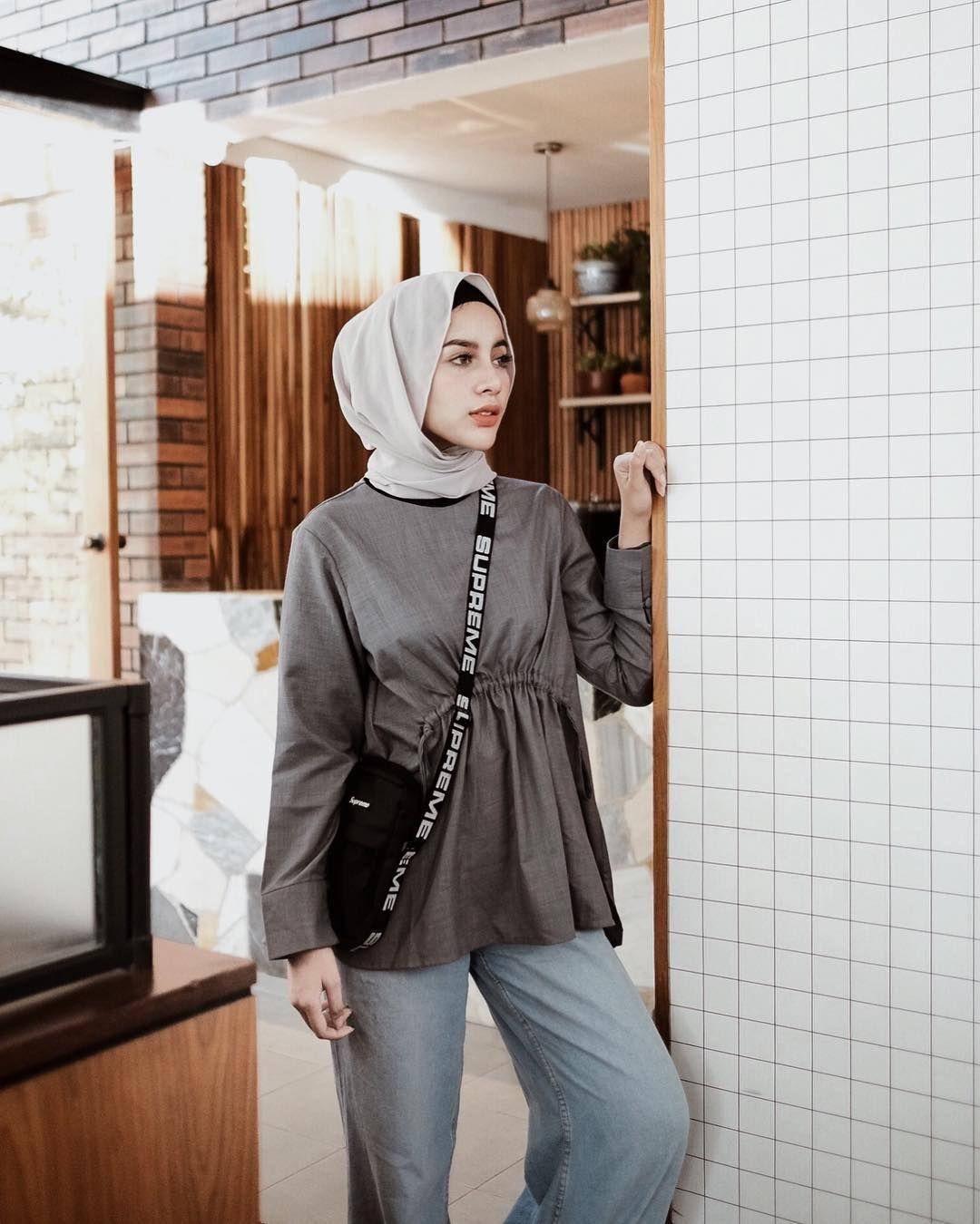 5 Tutorial Hijab Pashmina Ala Selebgram Hijabers Yang Kekinian Semua Halaman Stylo