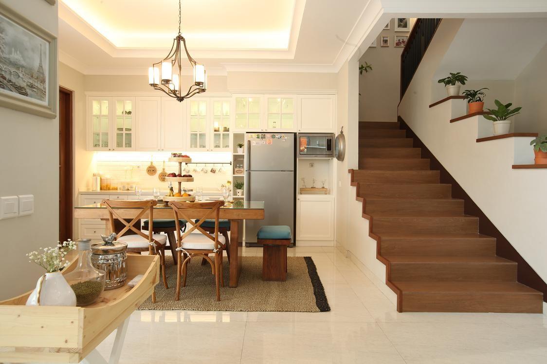 Inspirasi Desain Dapur Menyatu Ruang