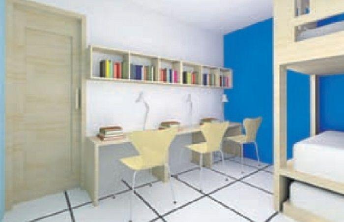 Inspirasi Desain Kamar Anak Efisien Satu Ruang Untuk 3 Anak Semua Halaman Idea