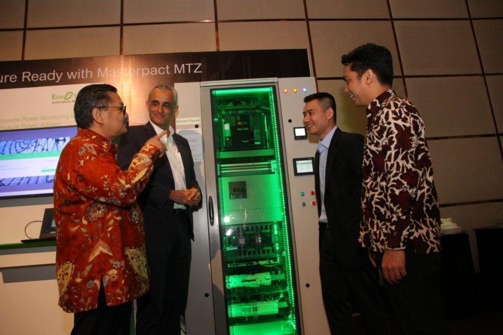 Masterpact MTZ, inovasi terbaru dari Schneider Electric yang diluncurkan hari ini di Hotel Fairmont, Jakarta