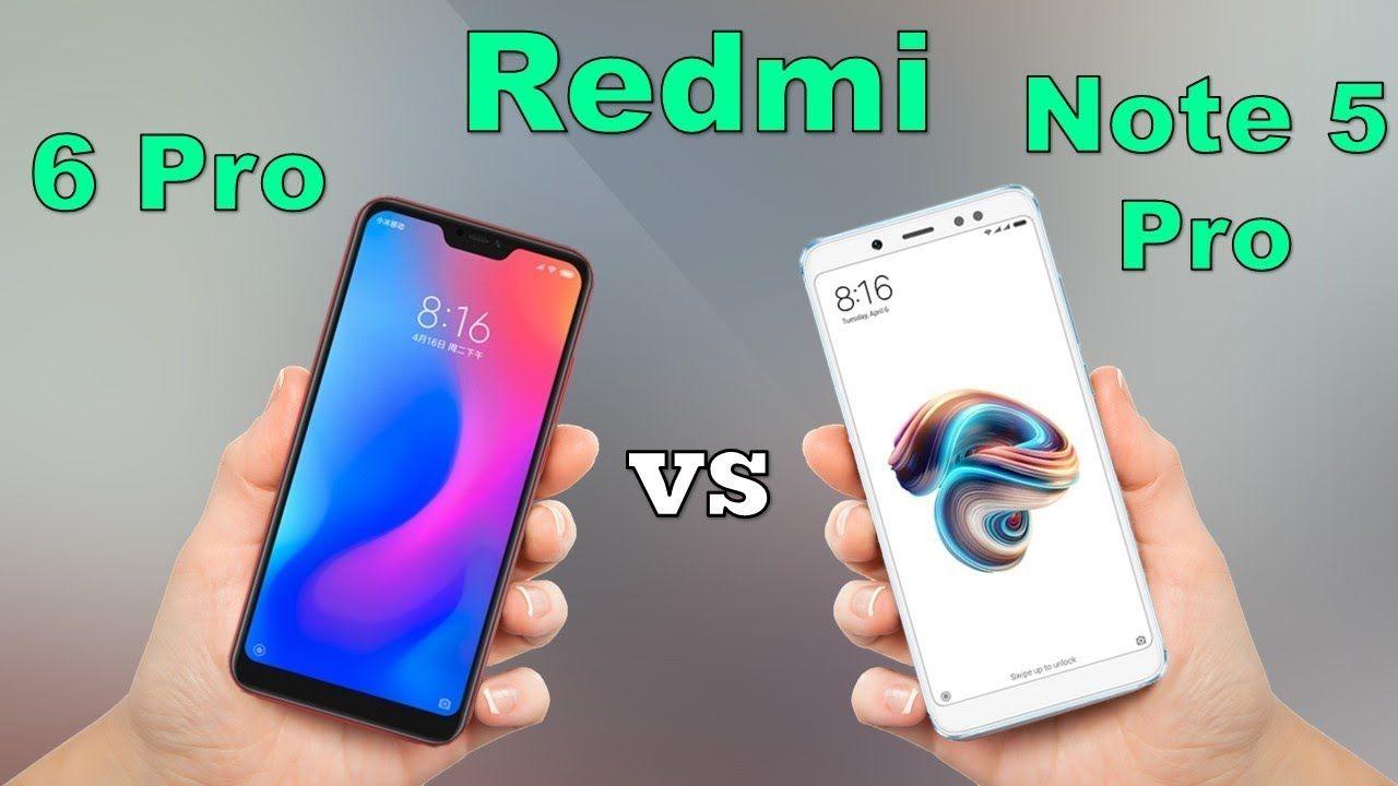 Xiaomi Redmi Note  5 AI dan Redmi Note 6 Pro