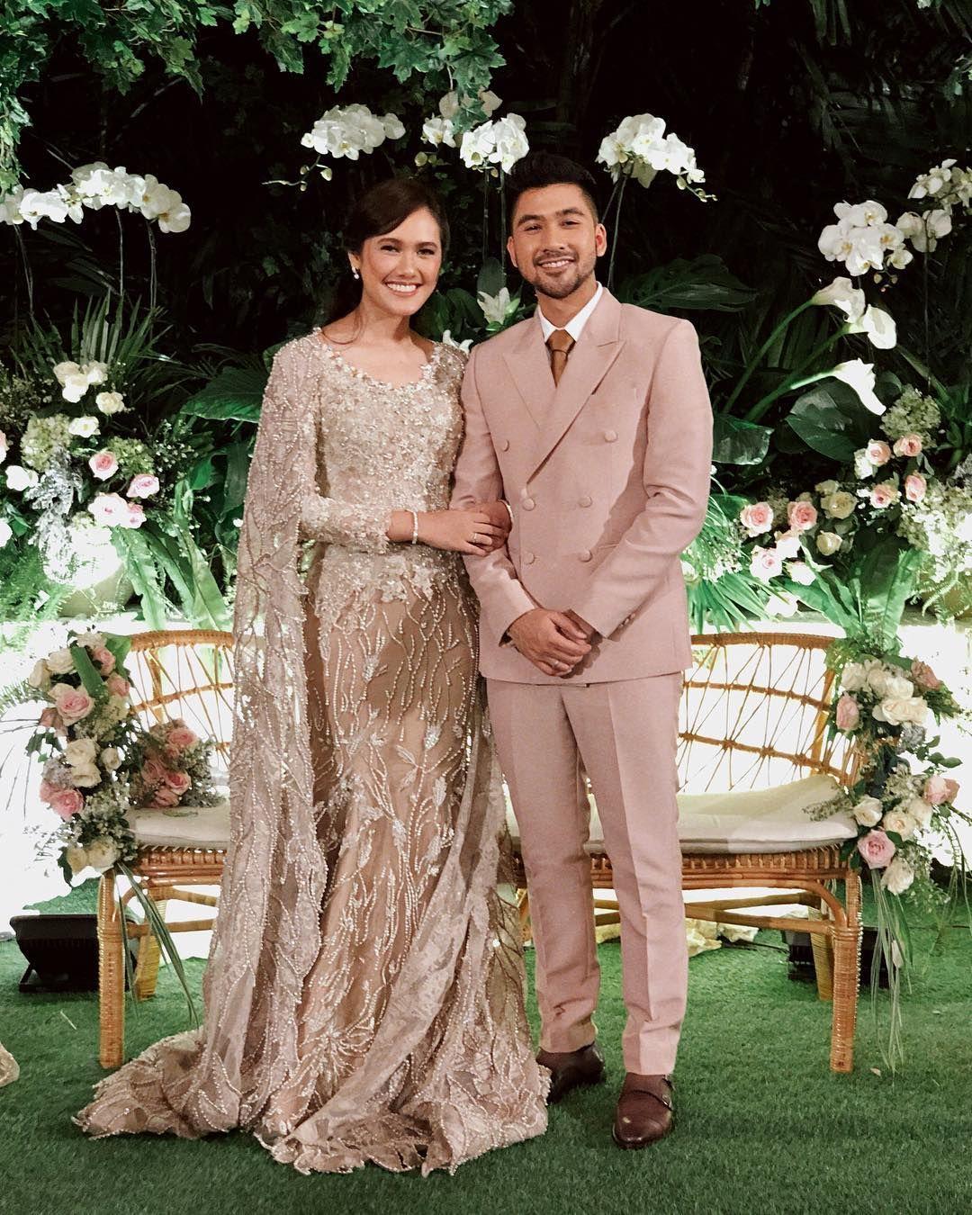Adiknya Menikah, Alyssa Soebandono dan Dude Herlino Tampil Kompak