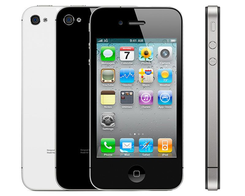 iPhone 4, Image by. Apple