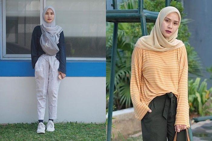 Cara Memakai Jilbab Segi Empat Ala Zaskia Adya Mecca Belajar