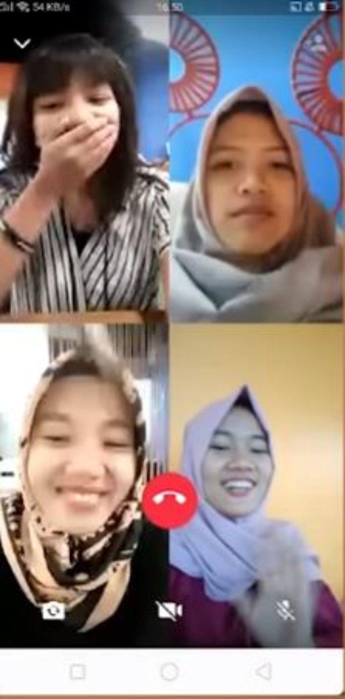 cara video call group whatsapp