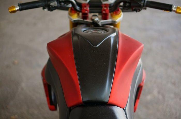 Simpel Dan Makin Sangar Honda Cb150r Ini Cuma Kena Modif