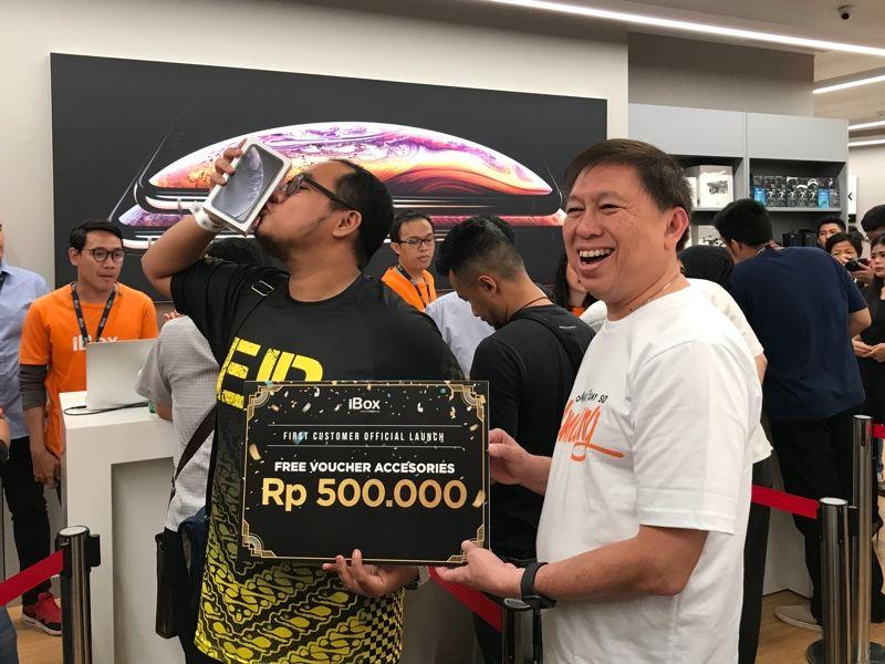 Liputan Launching iPhone XS, iPhone XS Max dan iPhone XR di iBox Central Park Jakarta