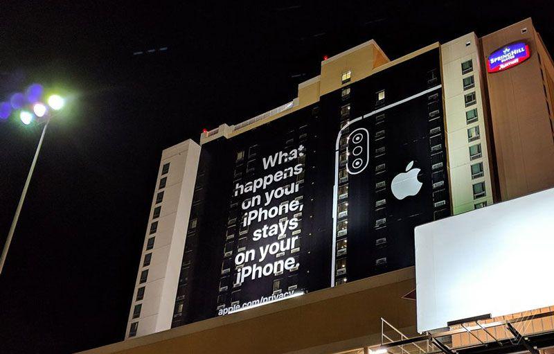 Iklan Apple Nongol di CES, Sindir Masalah Privasi Data Pengguna