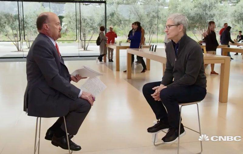 (Video) Wawancara Tim Cook Seputar Sentimen Negatif Penurunan Pendapatan Apple