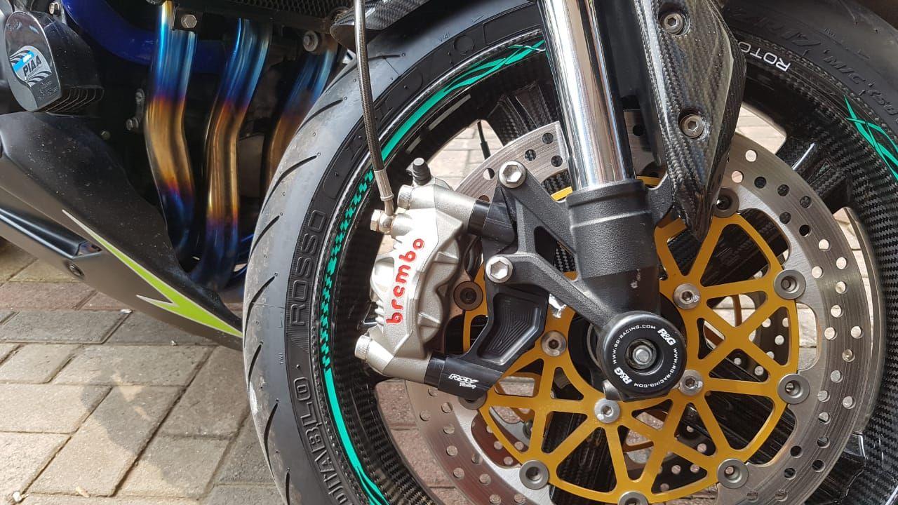 Tiga Cara Pasang Slang Rem Depan Motor Di Sistem Double Cakram Semua Halaman Gridoto Com
