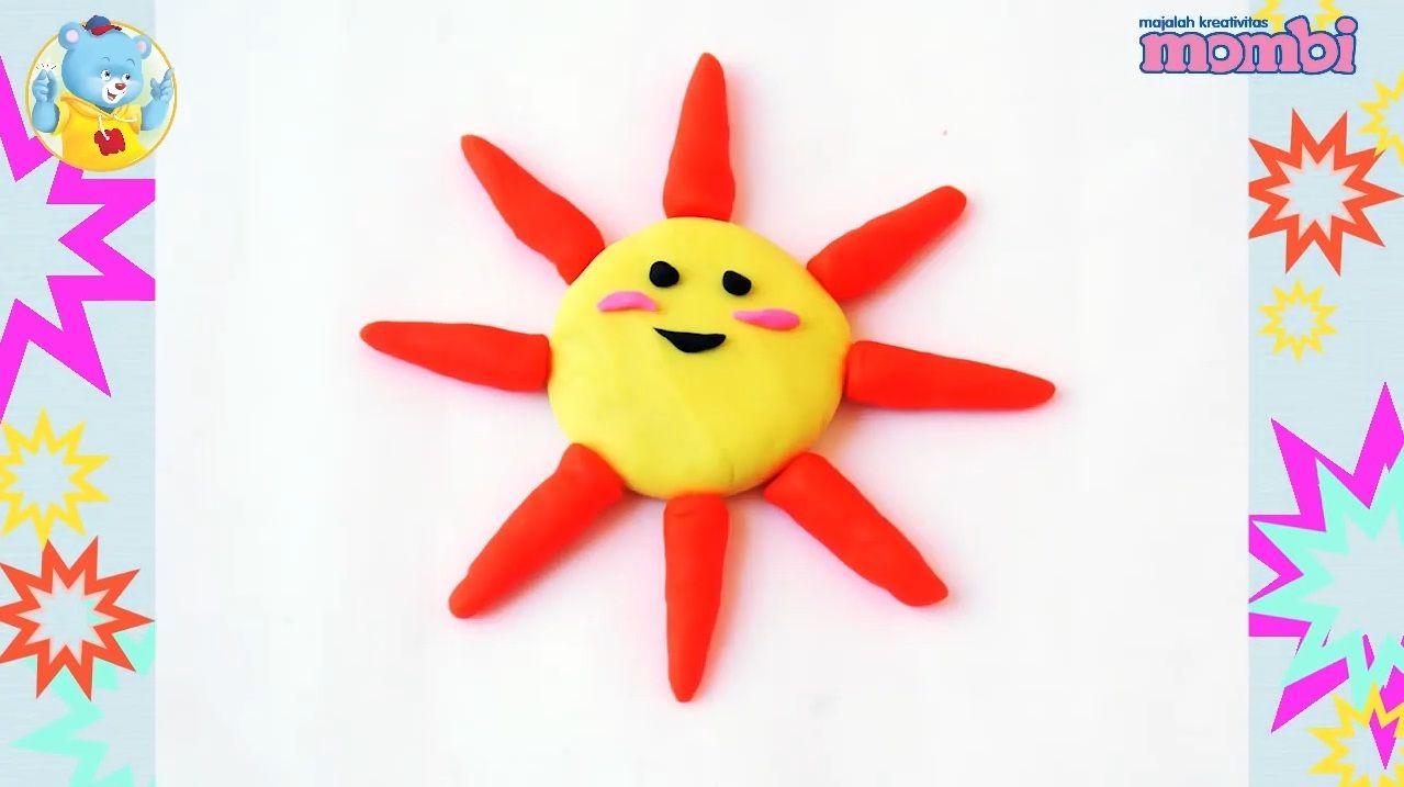 Jadi Benda Langit Yang Sinari Bumi Kita Buat Plastisin Matahari Yuk Semua Halaman Bobo