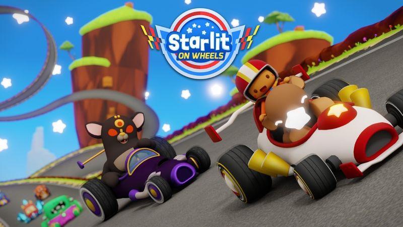 Review Starlit On Wheels: Super Kart, Game Balap Menyenangkan Penuh Kreasi