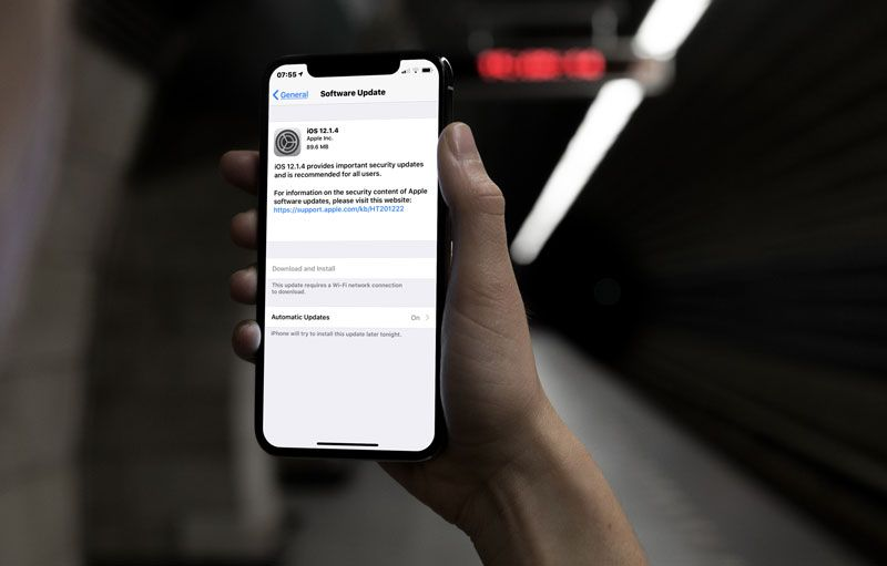 Apple Rilis iOS 12.1.4 dengan Perbaikan Celah Keamanan Grup FaceTime