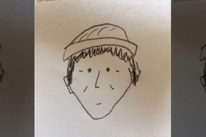 Sketsa Pelaku Pembunuhan Ini Terlihat Seperti Kartun Hingga