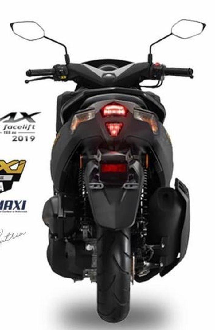 Banyak Yang Menunggu, Muncul Lagi Wajah Yamaha NMAX Facelift